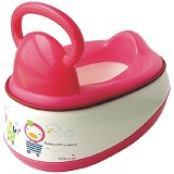 PUKU Baby Potty 5 in 1 [P17403] - Pink - Baby Potty and Seat